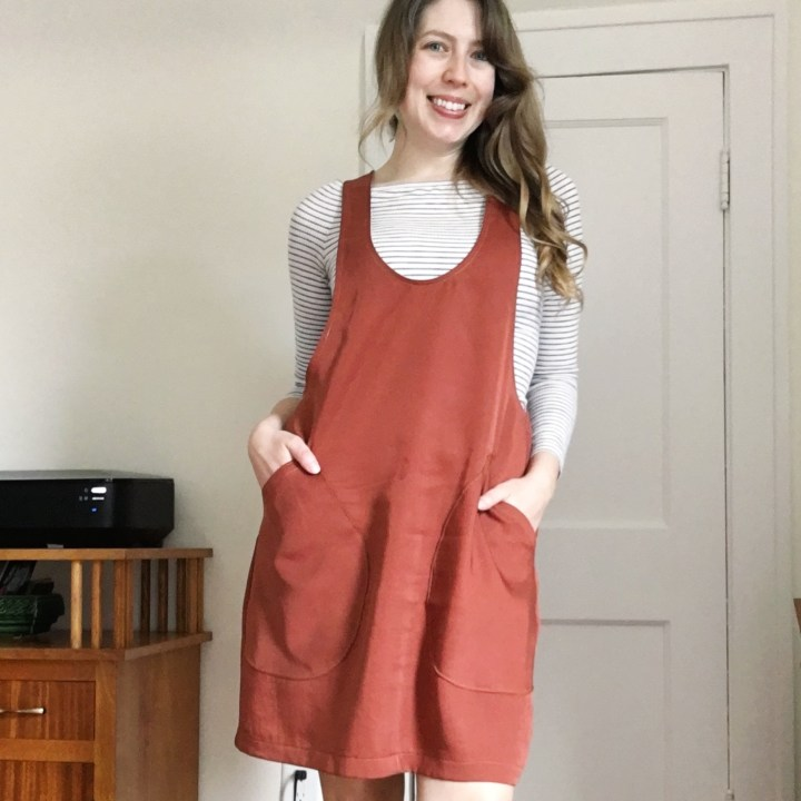 Sewing Pattern Review: The York Pinafore