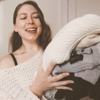 The No-Shrink Way To Wash + Store Vintage + Handmade Sweaters