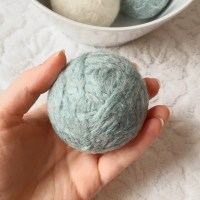 How To Make Sustainable Wool Dryer Balls Easy DIY