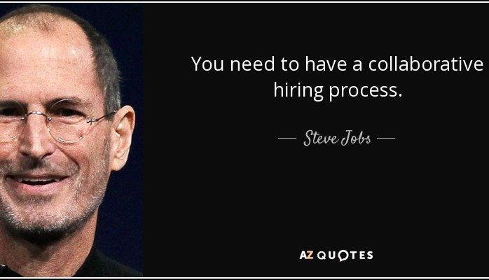 Nine great companies that practice collaborative hiring