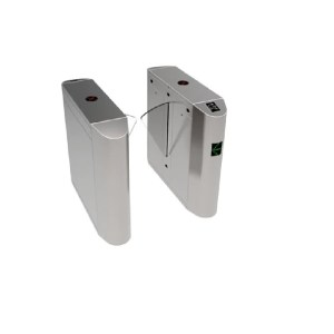 ZKTeco-FB4022-Single-Lane-Flap-Barrier-Turnstile-with-controller-and-fingerprint-&-RFID-reader (1)