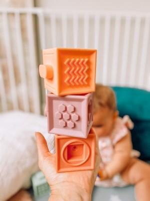 Teething building blocks