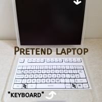 Pretend laptop