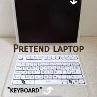 Pretend laptop