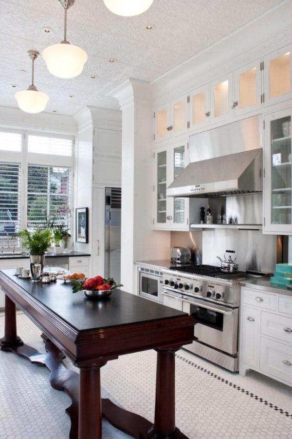 Плитка на кухню на пол: 80 фото лучших идей и советы ...