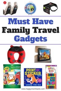 11 amazing travel accessories and activities for kids on your next Family Vacation. These must have gadgets from Amazon will keep your kids busy on airplanes or on a road trip. Keep the Kids happy and have the best family trip! #familytravel, #travelgadgets