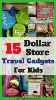 Best Travel Games for Kids on a Road Trip. Pick up these 15 Dollar store Travel Gadgets and Accessories for your kids. Save money and keep everyone happy using these travel hacks and ideas on your next family vacation. #DollarStore, #TravelHacks, #FamilyTravel,#traveltips, #dollartree, #familyvacation