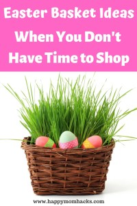 Amazon Prime Easter Basket Ideas when you don't have time to shop. Get great Easter basket ideas for teenagers, toddlers, and kids. Find unique non candy gifts kids will love and you can easily order at home.  Create your own DIY Easter baskets and have a fabulous Easter. #easter, #easterbasket #gifts