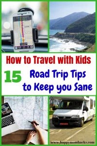 15 Road Trip Tips for Traveling With Kids. Find the best travel tips for on a plane or riding in a car. Parents will love the travel hacks, games to play in the car and fun activites for kids. Make it a great family vacation with these fun & easy travel tips! #familytravel, #roadtrip, #traveltips