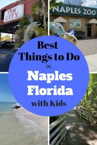 Ultimate Insider's Guide to Things to Do in Naples Florida with Kids. Learn where the locals go. Find the best beaches and restaurants. Keep the kids busy a the Naples Zoo, Children's Museum, Naples Botanical Gardens, Nature Preserves, sunset at the Naples Pier and More. Follow this guide to make it the best Family Vacation!!