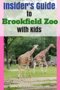 Top Tips for visiting Chicago's Brookfield Zoo. All the things to do, where to eat, park, and the best activities and exhibits to see. Learn about events too Summer Nights, Boo at the Zoo and Brookfield Zoo Lights. #brookfieldzoo, #traveltips, #zoo, #familyvacation