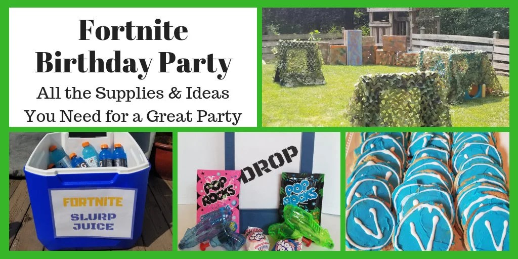 Fortnite Birthday Party All The Supplies And Ideas You
