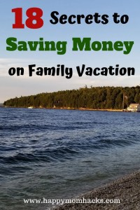 Easy Money Saving Tips for vacation with kids. Keep to your budget on vacation with these simple travel hacks. Great for road trips or family vacations. #savemoney, #familyvacation. #traveltips, #budget