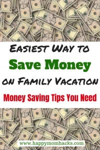 Best Money Saving Tips for Families . Use these simple and easy tips for vacation with the kids and save money. Moms and Dads will love thse money saving ideas. Get more out of your vacation! #savingmoneytips, #savingmoneyideas, #familytravel, #familyvacation