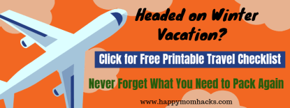 Family Travel Checklist. What to pack for your next family vacation! Free Printable