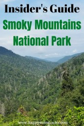 Smoky Mountains with Kids. Guide to all the great things to do in this National Park in Tennessee. Explore Cades Cove, try hiking to waterfalls, visit Pigeon Forge & Gatlinburg. A perfect family vacation everyone will love. #smokymountains, #familyvacation, #traveltips, #nationalparks