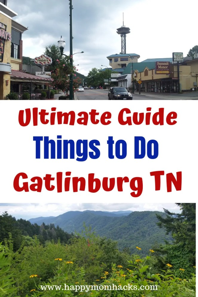 Gatlinburg Tennessee with Kids Best Things to Do. 7 awesome attractions to see with the whole family. Fun Amusement park at Ober Gatlinburg and quirky experiences at Ripley's Believe it or not museum and more. Plus the beautiful Smoky Mountains. Perfect family-friendly vacation. Click now and get planning. #smokymountains, #gatlinburgTN, #familyvacation, #familytrip, #traveltips