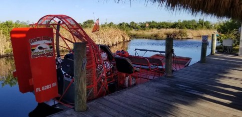 Cool Airboat rides in the Florida Everglades