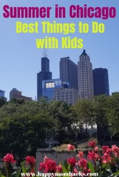 Chicago Summer Attractions -Best Things to do in Chicago with kids. Learn the best museums, parks, zoos and more to visit. #chicagoattractions #chicagowithkids #chicago #familytravel