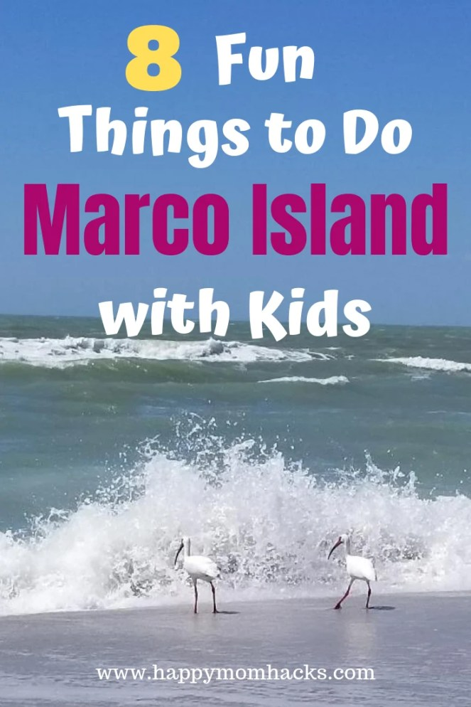 Best Things to Do in Marco Island Florida with Kids. Find tips and ideas for the best attractions to see. Fun day trips to Naples and southwest Florida. Visit beautiful beaches, nature preserves, museums and more. #marcoisland #familyvacation #traveltips #naples #southwestflorida
