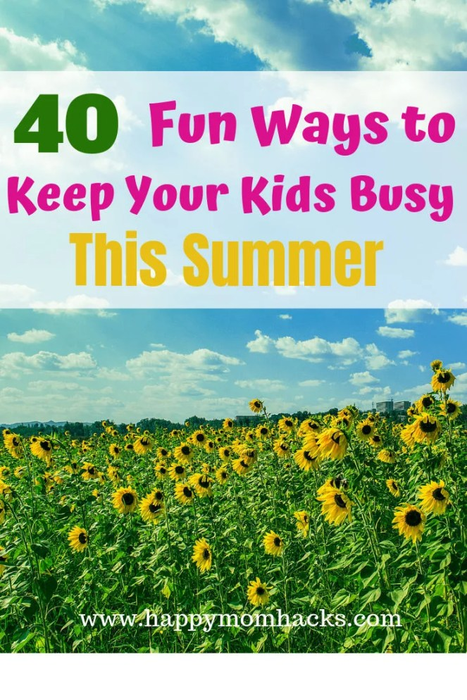 Best Summer Staycation Ideas for Families. Fun things to do with kids in the summer and spring break. Tips for activities to do at home and cool place to visit in your own town. Get these fun staycation ideas and be ready for a great family vacation. #staycation #kidsactivities #thingstodowithkids #kids #familyvacation #summer