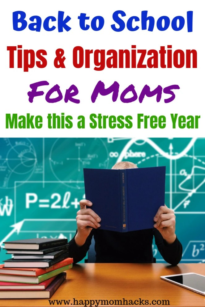 Back to School Organization Ideas for Moms and kids. How to plan your morning routine, quick after school snacks, kids lunches & dinner ideas. Free Printable morning routine checklist. Plus how to organize your kitchen to have the kids help pack their lunch and school snack.  All the ideas you need for an easy school year! #backtoschool #organization #organizationformoms #organizationaltips #morningroutine #backtoschoolorganization