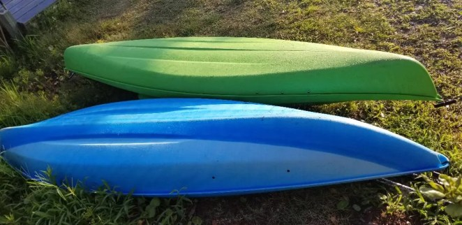 A Fun thing to do on Topsail Island is kayaking or paddle boarding on the calm sound side of the island.