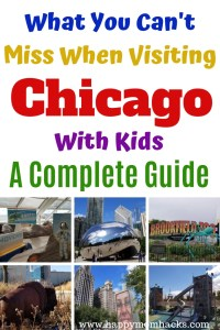 Top Things to Do in Chicago with Kids. The Ultimate Guide to Chicago Activities when visiting the city. Use this guide to plan your vacation or have a great Chicago Staycation. #chicago #visitchicago #thingstodochicago #chicagowithkids