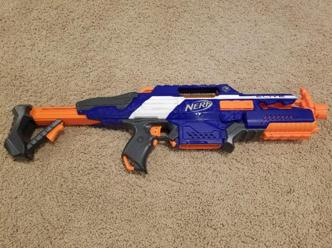 Nerf Gun Review for Nerf CS-18 N-Strike Elite Rapidstrike