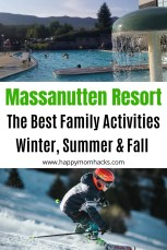 The Best of Massanutten Resort in Winter, Summer & Fall. All the best family activities and tips to know for your stay at Massanutten Resort. #massanutten #virginia #travelwithkids