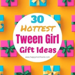 Tween Girl Gift Ideas for 9-12 year old's. Fun Gift ideas for Birthdays and Christmas