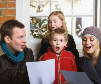 Christmas Caroling with your family for drive by Christmas. #christmas #caroling