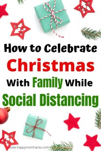 Have a Fabulous Christmas with Kids while Social Distancing. Fun Holiday family traditions & ideas you can still do for Christmas 2020.  Find out how to make it an amazing Christmas for your kids this year! #christmas #christmasideas #christmasactivities #familychristmas #christmaswithkids  #kids #holidayideas