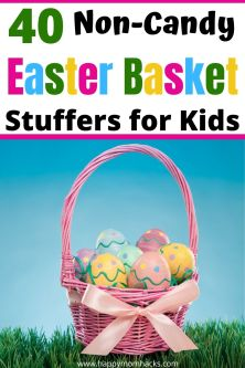 Non-Candy Easter Basket Stuffers for Kids from Toddler to Teens. Fun Easter basket ideas & fillers kids will be excited to open on Easter morning. Find gifts for all your kids ages and have your baskets done without any stress this year.