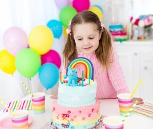 Birthday Cakes are the best birthday traditions. Make it more meaningful by letting your child pick out their own cake or bake it with you at home. They'll love spending time with you getting their favorite cake. #birthdaycake #birthdaytraditions