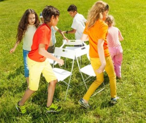 Musical Chairs is a fun birthday party game for kids.