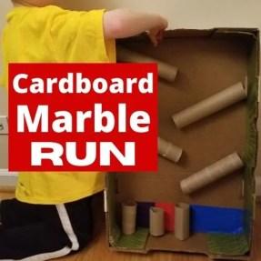 DIY Cardboard Marble Run Ideas for Kids