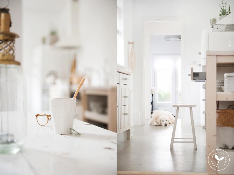 Wonen In Wit : Keuken make over wit wit wit u happymonday