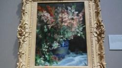 Londres National Gallery_14 - Pierre-Auguste Renoir - Gladioli in a Vase
