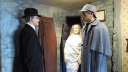 Sherlock Holmes museum_3_statues