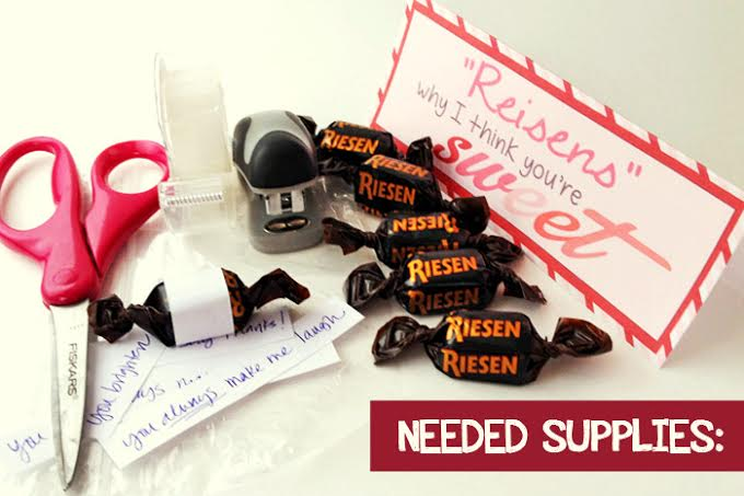 Riesen Candy Valentine Riesens I Think You Are Sweet