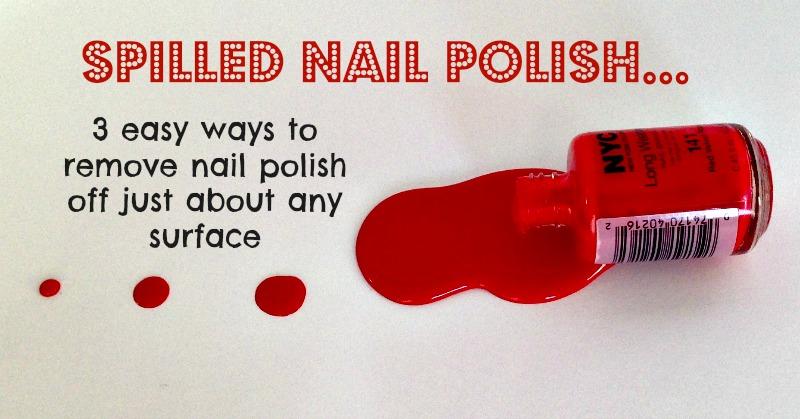 Easy Ways To Remove Nail Polish Off Carpet Clothes And Wood