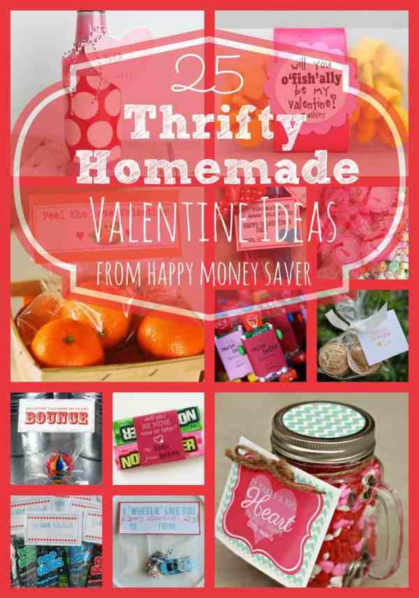 25 Thrifty Homemade Valentine Ideas | Happy Money Saver