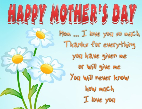 Most Ideal Happy Mothers Day