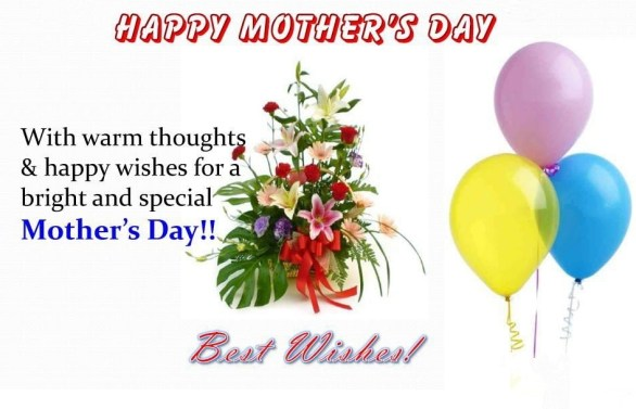 Wishes for Happy Mothers Day 2018