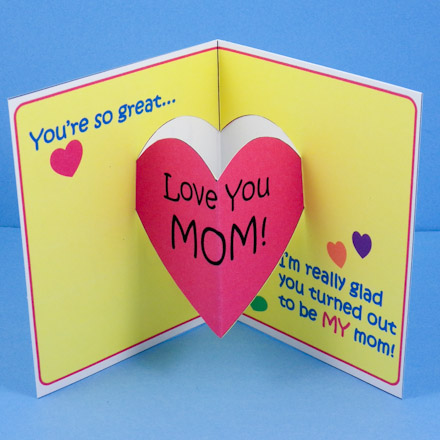 homemade mothers day cards 2018