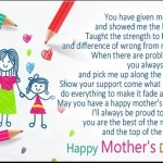 Mothers Day Messages 2018