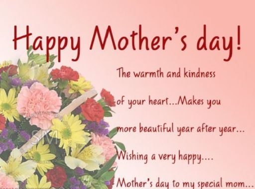Happy Mothers Day SMS