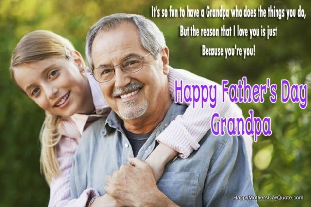 Fathers Day Messages for Grandpa