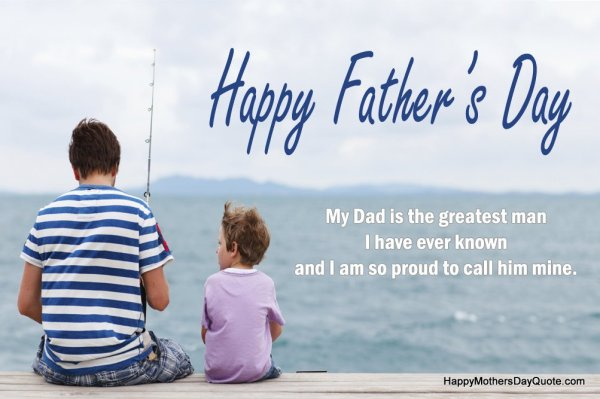 Happy Fathers Day Images with Quotes for Dad, Son ...